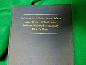 MAJOR WRITERS OF AMERICA by Perry Miller 1962 collectible book