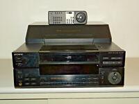 Sony CDP-CX100 100-fach CD-Wechsler inkl. Fernbedienung, 2 Jahre Garantie
