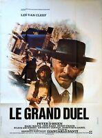 Plakat Kino Western Le Grand Duel Lee Van Cleef - 120 X 160 CM