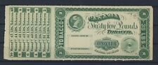 Canada Series of 1883 35 to 45 Pounds Tobacco Stamp #030318  2 5/8 x 7 inches