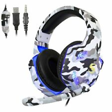 3.5mm K17 Gaming Headset MIC LED Headphones for PC Laptop PS4 Slim Pro Xbox One