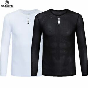 Cycling Base Layers Lightweight Mesh Fabric Sport Wear Bike Bicycle Underwear