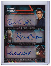 Doctor Who Extraterrestrial DAVID TENNANT/SILAS CARSON/GABRIEL WOOLF Auto 3/3