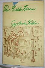 📕 Joy Louise Kidder The Kidder Horses Vintage horse book ©1981 Hc Signed Fe