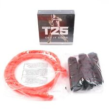 Beachbody Focus T25 DVD Set w/ Resistance Band Alpha + Beta Workout New Sealed