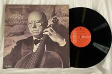 PABLO CASALS THE ART OF CELLO RCA VICTOR RED SEAL LM-2699 MONO EX