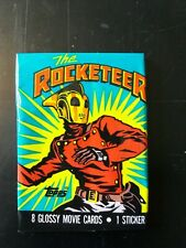 Topps The Rocketeer 55 Card Part Set 3 Stickers and 2 Empty Wrappers