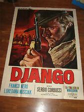 Manifesto,1966,DJANGO FRANCO NERO,SERGIO CORBUCCI,WESTERN ITALIANA