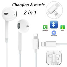 Headphones Earphones Earbuds With Charging &Mic For iPhone 8 Plus X XS MAX XR 11