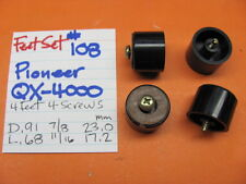 FEET SET #108 PIONEER QX-4000 QUAD STEREO RECEIVER
