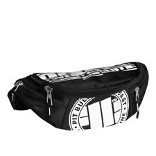 Pit Bull West Coast Big Waist Bag Logo Black/White Banane Sac Waistbag Pitbull