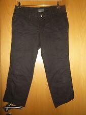 moderne 3/4 Hose von MEXX, dunkelbraun, Sommerhose Gr.34, nur 1 x kurz getragen!