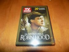 The Adventures Of Robin Hood Tv Guide Classics 39 Classic Episodes Dvd New