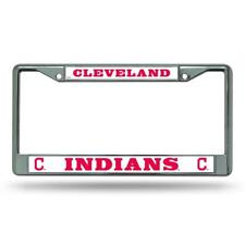 1 Cleveland Indians MLB Chrome License Plate Frame