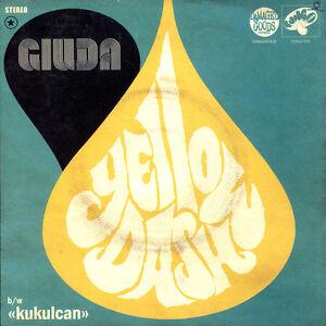 "Giuda - Yellow Dash 7"" vinyl **NEW YELLOW VINYL**"