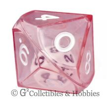 New Red Double Dice Rpg Gaming D10 Ten Sided Die D&D