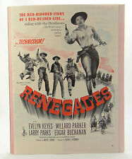 RENEGADES MOVIE ADVERTISEMENT~1946 Magazine Ad~Columbia Pictures w/ Evelyn Keyes