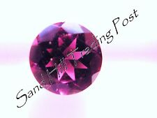Natural 2mm Loose Round Cut .04ct Pink Tourmaline AAA