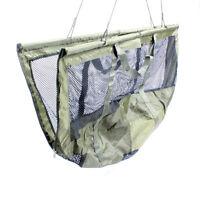 Abode® DLX Folding XL Carp Fishing Safety Zip Mesh Weigh Sling & Carry Bag