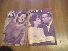 REVUE MON FILM 14 premier bal marie dea raymond rouleau maria montez 1946