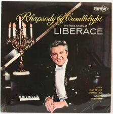 Rhapsody By Candlelight  Liberace Vinyl Record