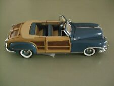 FRANKLIN MINT ..  1948 Chrysler Town and Country  ..  BRAND NEW in BOX