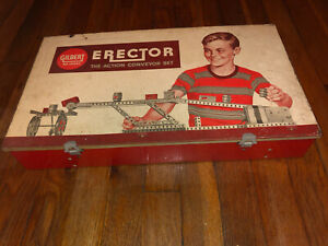 Vintage Gilbert Erector Set Number 10063