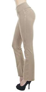 Shaping Pull On Butt Lift Push Up Yoga Pants Stretch Indigo Denim Skinny Jeans