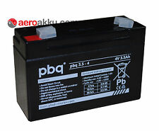 PBq 3.5-4 4v 3,5ah compatibile Sonnenschein a504 3,5s BATTERIA Lampada a mano merce fresca
