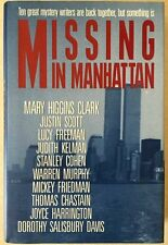 Missing in Manhattan First Edition Signed by all Ten Mystery Authors