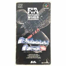 Exhaust Heat II 2 with BOX Nintendo Super Famicom SNES SFC JP Vido Game 526-1
