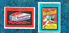 1985 (44) TOPPS WACKY PACKAGES SET (PUZZLES,CHECKLISTS,STICKERS) +BONUS WRAPPER!
