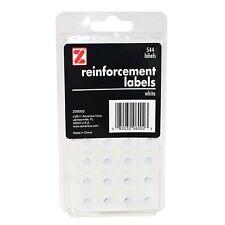 ADVANTUS Self Adhesive Reinforcement Labels, 544 Labels, White