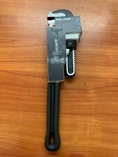 Holdon Black 350mm Aluminium Stilson Pipe Wrench 14in