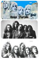 Deep Purple Aluminum Novelty Car License Plate