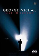 GEORGE MICHAEL LIVE IN LONDON 2 DVD REGION 0 PAL NEW