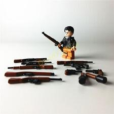 12pcs Weapons Gan For Legos Minifigures Part Building Bloks Toys Boy's Gift
