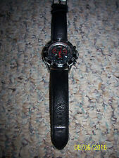 LP Italy Sport Maranello Collection 2106BK Swiss Made Men's Watch; FREE SHIPPING