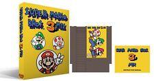 Super Mario Bros 3 Mix Complete Box Set New Sealed NES