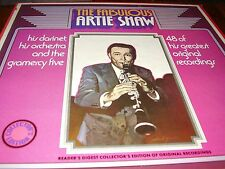 The Fabulous Artie Shaw - 4 Record Set - Orchestra - Gramercy Five - American Bi