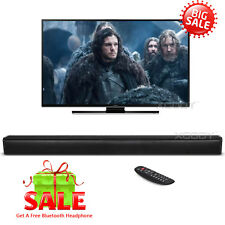 TV Speaker Soundbar Bluetooth Wireless Home Theater Sound Bar Coaxial RCA HDMI