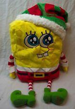 "Macy's 2014 Christmas Talking Spongebob Squarepants As Elf 18"" Plush Stuffed Toy"