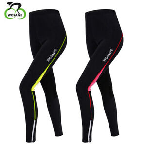 Women Cycling Tight Padded Legging Cycling Trouser Ladies Long Pants Compression