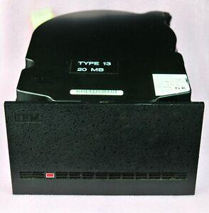 Original Vintage IBM WD25 20MB Full Height MFM hard drive - WORKS!