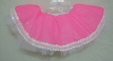 Pageant Dance Costume Pink Sparkle Tutu Toddler Fluffy Tulle Elastic Size 2T 3T