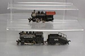 Rivarossi HO Steam Locomotives: B&O #98 and C&NWR #96 [2]