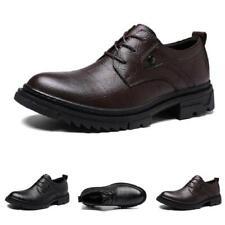 38-47 Mens Low Top Faux Leather Business Leisure Shoes Oxfords Lace up Formal L