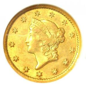 1851-O Liberty Gold Dollar G$1 - Certified NGC AU55 - Rare New Orleans Coin