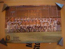 1979 San Francisco Giants baseball team sponsoring by Lowenbrau poster