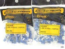 200pc Audio Accessories Xscorpion Md250B (.250 14-16Ga) S#C844 Blue